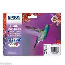 Epson T0807 ORIGINALE PER STYLUS PHOTO RX685