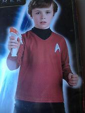 New Star Trek Movie Scotty Costume Childs Boys Medium 8 10 for 5-7 years RUBIES