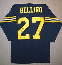 Joe Bellino SIGNED US Naval Academy Jersey + Heisman 60 PSA/DNA AUTOGRAPHED