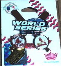 2004 WORLD SERIES BOSTON RED SOX CARDINALS PIN #2