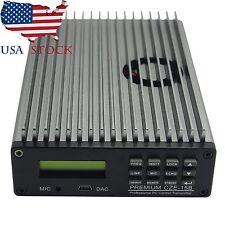 Pro Adj. CZE-15B 0.3-15W Professional PLL FM Transmitter Radio Broadcast US Ship