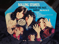 Rolling Stones Through The Past, Darkly SEALED US 1969 ORIG. LP W/PROMO STICKER