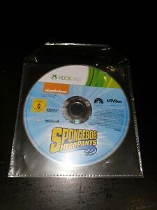 Spongebob Hero Pants Microsoft Xbox 360 Kids Game Disc Only