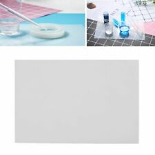 Clear Silicone Mat Resin Pad Craft Tool Sticky Plate High Temperature Resistance
