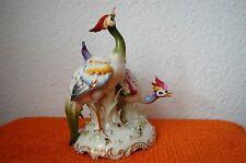 Schierholz Paradies-Vogel 21cm Kranich Fasan Hahn Huhn Henne Pfau Schreit-vögel