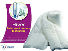 COUETTE HIVER 500g/m² LA CHALEUR EST CONSERVEE = ECONOMIE DE CHAUFFAGE ! 140x200