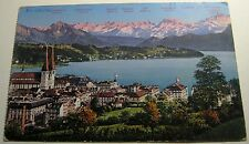Switzerland Luzern und die Alpen - posted 1959
