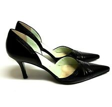 c097a34e0ea0 New listingP Verdi for Russell & Bromley Womens Heels Black Leather  Stiletto Size UK 5