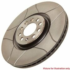 Front Performance High Carbon Grooved Brake Disc (Pair) 09.8670.75 - Brembo Max