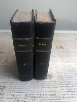 Platonis Opera: Vol.2 And Vol 3 Copyright 1829