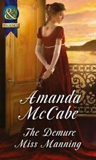 The Demure Miss Manning by Amanda McCabe (Paperback, 2015)