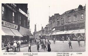 Pamlin repro photo postcard C10204 Stafford Street Hanley Stoke on Trent c1910