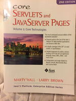 HALL BROWN 2e Core Servlets and Javaserver Pages: Core Technolog T47--NEW