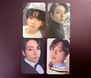 BTS ~ Jungkook Map of the soul 7 Photocard set 4 replicas unofficial card mots7
