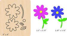 New Flowers Wooden die fit Big Shot  Scrapbooking D-676
