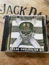 S.O.D. SOD Speak English or Die Original 1987 Megaforce Caroline Records CD