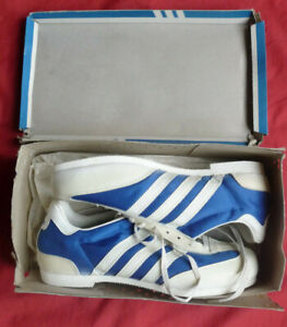 rare anciennes chaussures ADIDAS SILVER TRAIL made in FRANCE neuve jamais portée