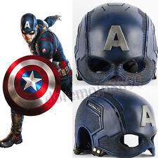 Hot 1:1 Captain America Civil War Mask Mens Cosplay Props PVC Motorcycle Helmets