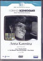 2 DVD Serie Del Drama Rai Anna Karenina Por Sandro Bolchi Con L Massari Completa