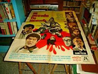 Ich Töte Tu Sterben Manifesto 2F Original 1965 Franken Ingrassia Salerno