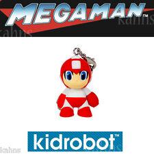 "Kidrobot Mega Man Keychain Series  - RED ROBOT - 1.5"" Figures - New - Megaman"