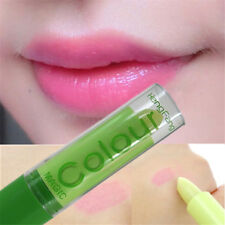 Color Change Woman Waterproof Magic Fruity Smell Cream Lipstick Lip Gift New