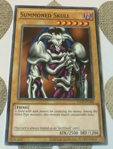 ☆ Summoned Skull YGLD-ENA06 Common Unl Ed Nr Mint or Better YuGiOh ☆