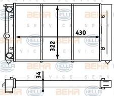 8MK 376 713-324 HELLA Radiator  engine cooling