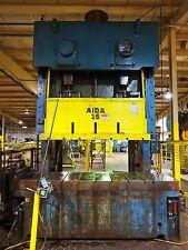275 Ton Aida Double Crank Gap Frame Press, Stamping, Planet Machinery #5180