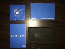 2017 Honda Civic owners manual