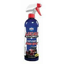 Lucas Slick Mist Speed Wax, Fast and Easy. For professional and show use.