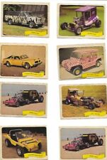 14 GEORGE BARRIS CAR STICKERS FLEER 1960'S BEACH BOYS BUGGY RONALD MCDONALDBUGGY