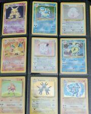 Original Vintage Wotc Pokemon Card Lot - Authentic & Original Cards! Read!