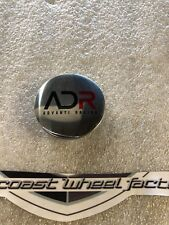 ADR Advanti Racing Chrome Pop In Wheel RIM Replacement Cover Cap 2.25""