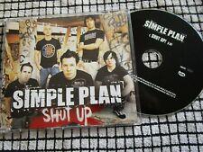 Simple Plan – Shut Up! Label: Lava – PRO15101 Promo CD Single