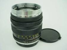 YASHICA 10cm(100mm) F2.8 TOMINON SUPER YASHINON-R #1000957-RARE!