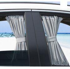 50X39cm Gray VIP CAR WINDOW CURTAIN SUNSHADE 2pcs Universal
