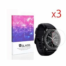 For Samsung Gear S3 Tempered Glass Screen Protector 9H Hardness (3 Packs)