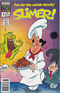 SLIMER #2 (1989) COMIC BOOK ~ NOW Comics