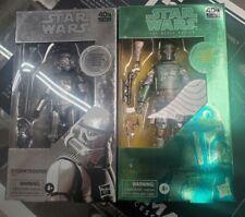 "Star Wars The Black Series Carbonized Boba Fett 6"" & STORMTROOPER"