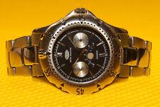 Men's Vintage ORION Real-MoonPhase Quartz Watch <VGU>