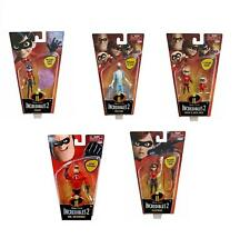 The Incredibles Family Set of 5 Packs Action Figures Dolls 5-11 cm