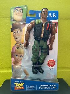 "MATTEL TOY STORY COMBAT CARL 9"" ACTION FIGURE NEW IN PACKAGE HTF"