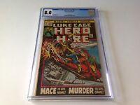 HERO FOR HIRE 3 8.0 LUKE CAGE MACE BILLY GRAHAM GEORGE TUSKA MARVEL COMICS