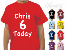 Boy T-Shirt Personalised T-Shirts & Tops (2-16 Years) for Girls
