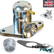 SUPERSONIC ATMOS BLOW OFF DUMP VALVE fit SUBARU IMPREZA 1-15 TURBO WRX STI SILVE