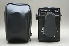 Lubitel 166 Universal Lomo TLR Camera 75mm F/4.5 T-22 & Case - Made in USSR
