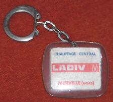 Porte-clé Keychain CHAUFFAGE CENTRAL LADIV MERVILLE NORD FRANCO BELGE ménagers