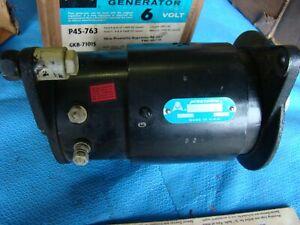 45-763 Generator 6 Volt Prestolite Autolite Ford  1948 - 1955 NOS New in Box