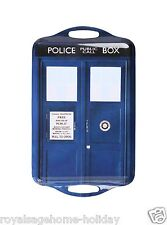 DW01655 Doctor Who Tardis Tray Time Machine BBC Police Call Box Tea Serving